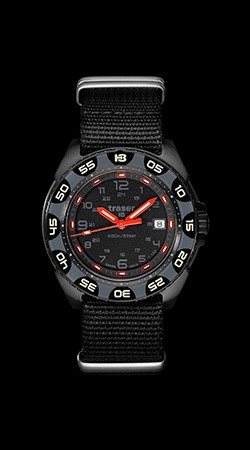 Red Alert T100 with NATO Strap
