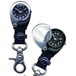 Backpacker Magnifier, Black Dial, Black Case