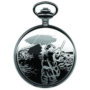 Sportsman Pocket Watch, Angler