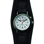 Super E.L., Women, White Dial, Black Case, Dri-Lex Band