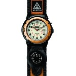 Outrider Super E.L., White Dial, Orange Case, Nylon Strap