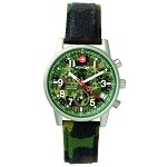 Commando Chrono, Camo Dial, Camo Fabric Strap