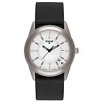 Classic Basic Translucent Silver with Black Silicone Strap